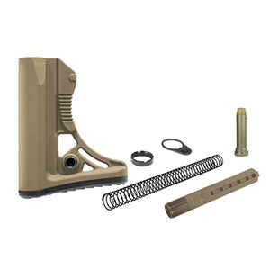 UTG PRO AR15 Ops Ready S3 Commercial-spec Stock Kit, FDE
