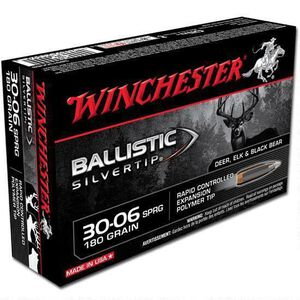 Winchester Silvertip .30-06 Springfield Ammunition 200 Rounds BST 180 Grains SBST3006B