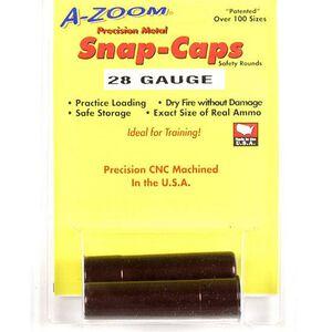 A-Zoom Snap Caps 28 Gauge Aluminum 2 Pack 12214