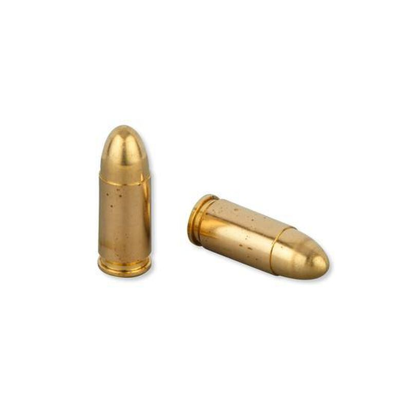 FIOCCHI 9mm Luger Ammunition 50 Rounds FMJ 124 Grains 9APB