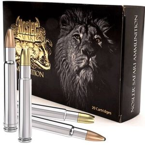 Nosler Safari .505 Gibbs 525 Grain Solid Bullet 10 Rnd Box