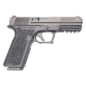 "Polymer 80 PFS9 9mm Luger Full Size Semi Automatic Pistol 4.49"" Barrel 17 Rounds Steel Sights Polymer Frame Black"