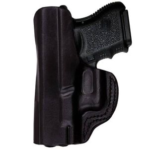 Tagua Gunleather IPH IWB Holster Kel-Tec/Ruger LCP With Laser Right Hand Leather Black IPH-005