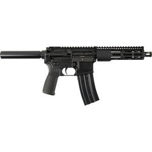 "Radical Firearms AR-15 Semi Auto Pistol 5.56 NATO 7.5"" Barrel 30 Rounds Free Float FCR M-LOK Handguard Pistol Buffer Tube Black"