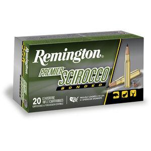 .243 Win Remington Premier 90 Grain Scirocco Bonded Bullet 3120 fps 20 Round Box PRSC243WA