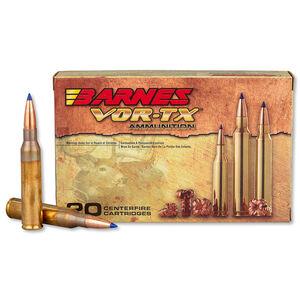 Barnes VOR-TX .338 Lapua Ammunition 20 Rounds 280 Grain LRX BT Bullet 2800 fps