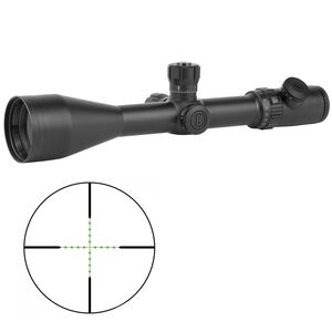 Bushnell Tac Optics LRS 6-24x50mm Riflescope Illuminated Mil Dot Reticle 30mm Main Tube Side Parallax Adjustment First Focal Plane Matte Black