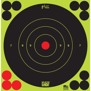 "Pro-Shot 6"" Splattershot Bullseye Green Peel and Stick 12 Pack"