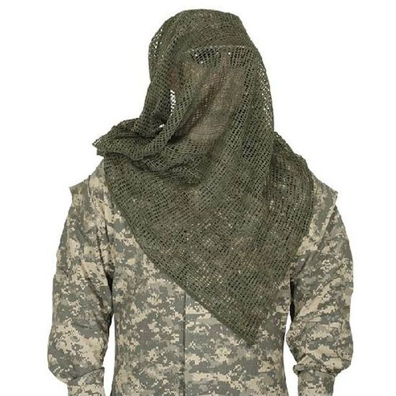 "Voodoo Tactical Sniper Veil Cotton 48""x36"" OD Green 02-010904000"