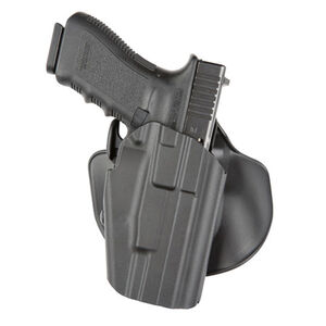 Safariland 578 GLS Pro-Fit Wide Long Paddle Holster Right Hand Plain Black 578-450-411