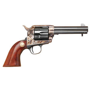 "Cimarron P-Model Pre-War Frame Revolver .38-40 Win 4.75"" Barrel 6 Rounds  Case Hardened Frame Walnut Stocks Blued"