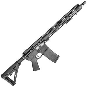 """Core15 Tac III Semi Automatic Rifle 5.56 NATO 16"""" Barrel 30 Rounds Magpul MOE Stock and Midwest Industries Gen 2 SS Series Free Float Forearm Black 10611"""