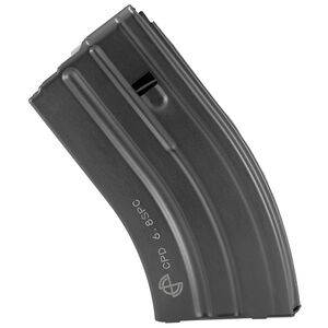 C Products Defense AR-15 6.8 SPC/.22 Nosler Magazine 20 Rounds Stainless Steel Construction Black Finish