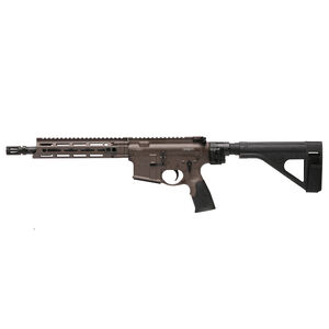 "Daniel Defense M4 V7 P AR-15 .300 AAC Blackout Semi Auto Pistol 10.3"" Barrel No Magazine DD MFR M-LOK Hand Guard SB-Tactical SOB Pistol Stabilizing Brace FDE/Black Finish"
