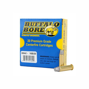 Buffalo Bore Heavy .41 Remington Magnum Ammunition 20 Rounds Hard Cast SWC Keith 230 Grain 16B/20