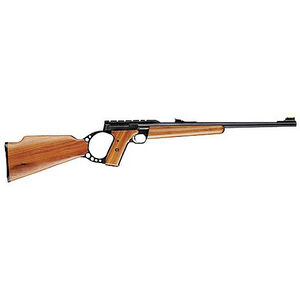 "Browning Buck Mark Sporter Semi Automatic Rimfire Rifle .22 Long Rifle 18"" Barrel 10 Rounds Oil Finish Walnut Stock Matte Blued Finish"