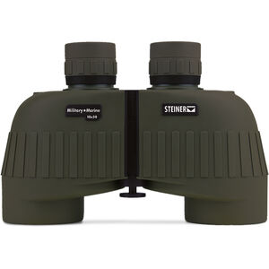 Steiner Military/Marine MM1050 Binoculars 10x50mm Floating Prism System Makrolon Housing NBR Rubber Armor OD Green