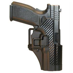 BLACKHAWK! CQC SERPA Belt Holster, Springfield XD, Black Carbon Fiber, Left Hand