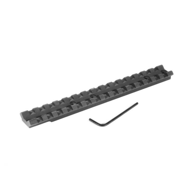 EGW Winchester 1300/SXP/FN SLP Picatinny Scope Rail Mount 0 MOA Built In Ambidextrous 6061-T6 Extruded Aluminum Matte Black Finish