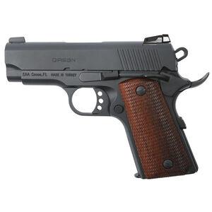 "EAA GiRSAN MC1911SC Officer Model 9mm Luger Semi Auto Pistol 3.4"" Barrel 7 Rounds Adjustable Rear Sight Ambidextrous Safety Black Finish"