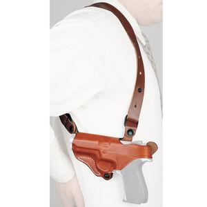 DeSantis C.E.O. Shoulder Rig Fits GLOCK 43 Shoulder Holster Left Hand Leather Black