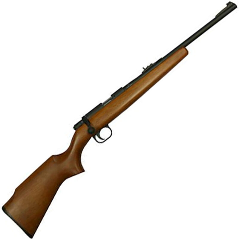 """Rock Island Armory M14Y Bolt Action Rimfire Rifle .22 LR 18"""" Barrel 10 Rounds Youth Wood Stock Matte Black Finish"""