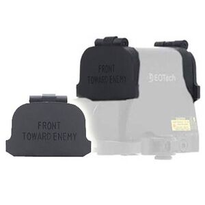 GG&G EOTech XPS Flip Lens Cover Black with Front Toward Enemy Engraving GGG-1272FTE