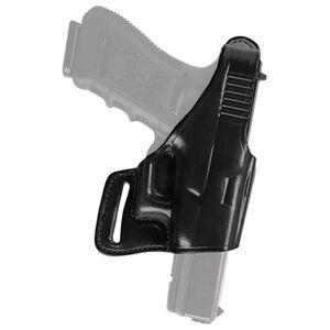Bianchi Model 75 Venom Ruger LC9 Belt Slide Holster Right Hand Leather Black 26096
