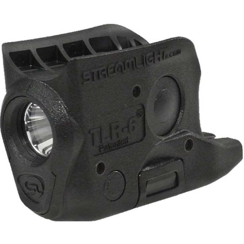 Streamlight TLR-6 Trigger Guard Mount GLOCK 26/27/33 with Out a Rail 100 Lumen C4 LED CR-1/3N Polymer Black