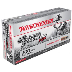 Winchester Deer Season XP .300 WSM Ammunition 200 Rounds PT 150 Grains X300SDS