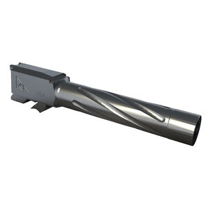 Rival Arms Barrel for S&W M&P 1.0 Full Size Models 9mm Luger Fluted/Non-Threaded 416R Stainless Steel PVD Coating Graphite Finish