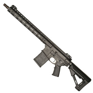 "Noveske Gen III N6 AR Style Semi Auto Rifle .308 Winchester 16"" SS Barrel 30 Round 15"" NSR M-LOK Compatible Free Float Hand Guard Geissele Trigger Magpul Furniture Matte Black Finish"