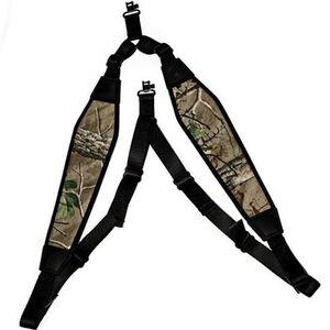 GrovTec Padded Backpack Rifle Sling w/Swivels Realtree Xtra Green Camo