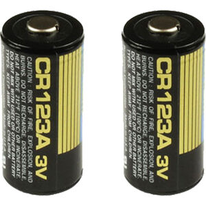 TRUGLO CR123A 3v Lithium Ion Batteries 2 Pack