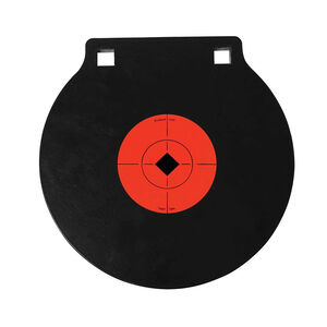 "Birchwood Casey World of Targets AR500 10"" Double Hole Steel Gong 3/8"" AR500 Steel Target Matte Black"