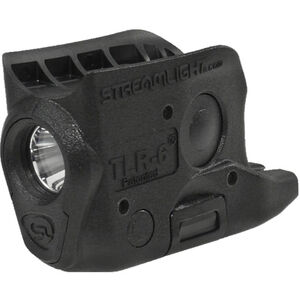 Streamlight TLR-6 GLOCK 43/42 Trigger Guard Mount 100 Lumen LED CR-1/3N Polymer Black