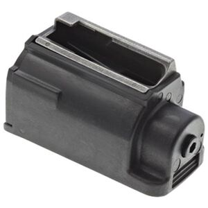 Ruger M77 Magazine .357 Magnum 5 Rounds Plastic with Steel Feed Lips Black Finish 90345