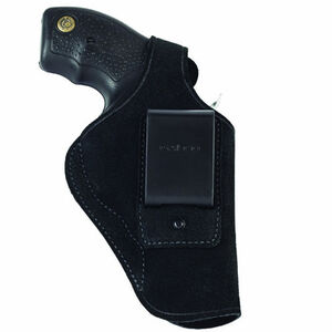 "Galco Waistband Taurus 85 CH 2"" Inside Waistband Holster Left Hand Leather Black WB161B"