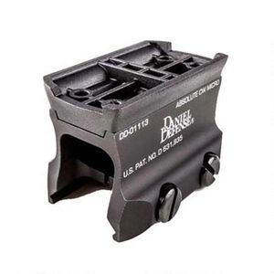 Daniel Defense Aimpoint Micro Mount (Rock & Lock) Aluminum Black 03-045-14131