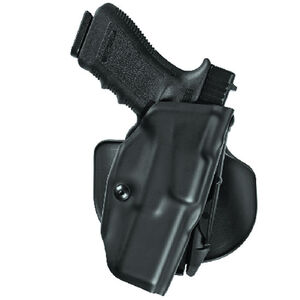 "Safariland 6378 ALS Paddle Holster Left Hand GLOCK 17 without Thumb Safety with 4.5"" Barrel STX Tactical Finish Black 6378-83-132"