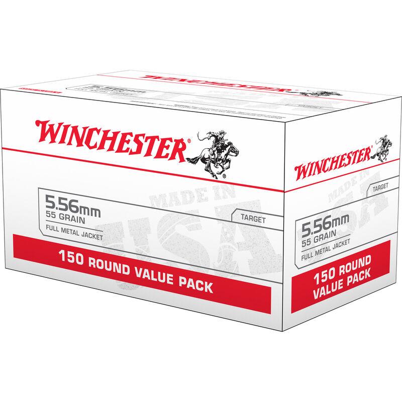Winchester Lake City 5.56 NATO Ammunition 150 Rounds FMJ 55 Grains