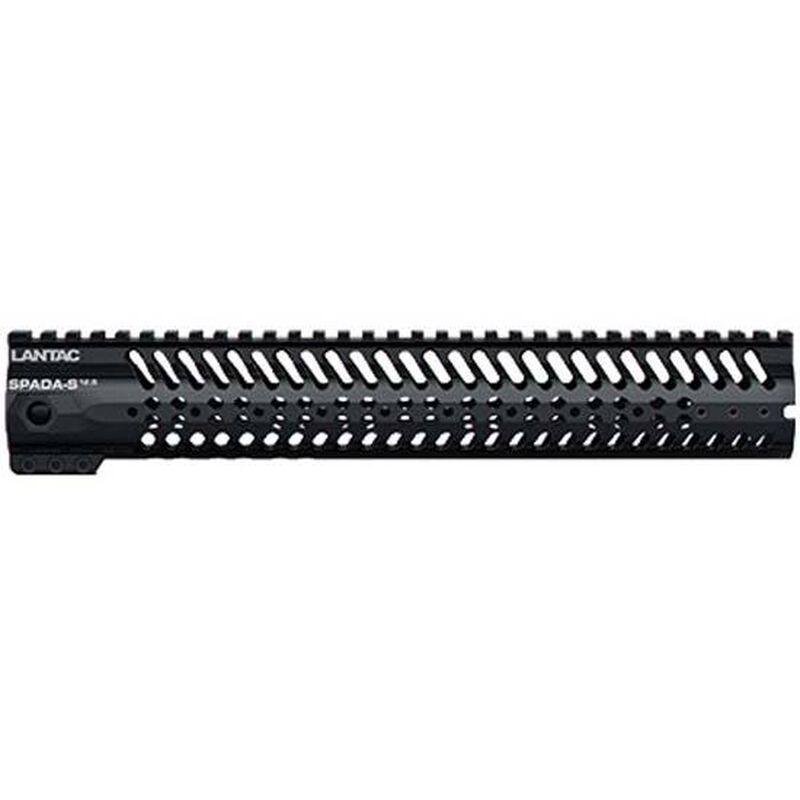 "LANTAC USA SPADA-S AR-15 Freefloat Handguard 12.5"" Aluminum Black LA00249"