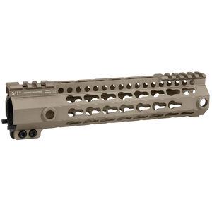 "Midwest Industries AR-15 G3 KL-Series Lightweight KeyMod Handguard 9"" Aluminum Flat Dark Earth MI-G3KL9-FDE"