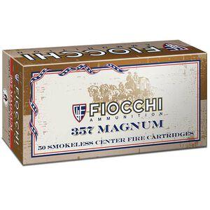 Fiocchi Cowboy Action .357 Magnum Ammunition 50 Rounds 158 Grain Lead Flat Nose 700fps