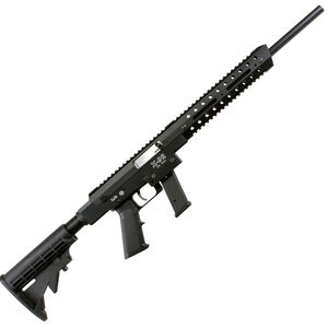 """Excel Arms X-Series X-9R 9mm Luger Semi Automatic Rifle 16"""" Barrel 10 Rounds Aluminum Construction Collapsible Stock Black"""