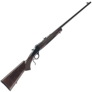 """Winchester Arms 1885 Low Wall Hunter Single Shot Rimfire Lever Action Rifle .17 WSM 24"""" Octagonal Barrel 1 Round Walnut Stock Gloss Blued Finish 524100186"""