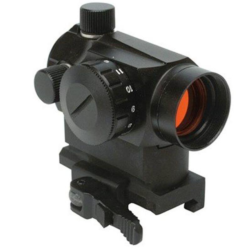 Konus Sight-Pro Atomic QR Red Dot with Riser Sight-Pro Atomic Mini Red Dot With Integrated Riser & Quick Release Mount