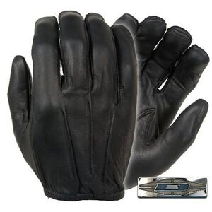 Damascus Protective Gear Dyna Thin Duty Gloves Cowhide Black