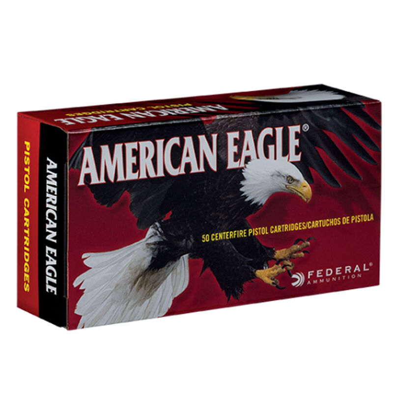 Federal American Eagle .40 S&W Ammunition 50 Rounds FMJ 180 Grains AE40R1