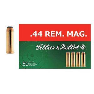 Sellier & Bellot .44 Magnum Ammunition 600 Rounds SP 240 Grains SB44A